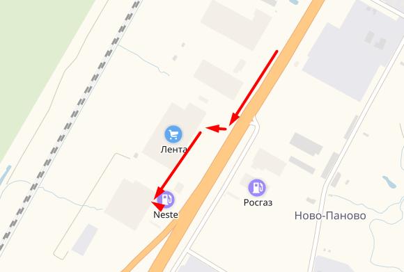 Леруа Мерлен Таллинское шоссе как проехать